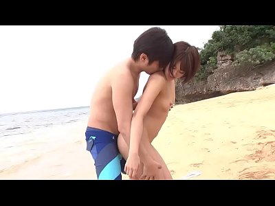 Ultra Sexy petite Asian Fuck on the Beach