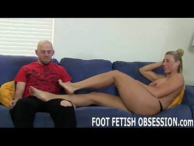 Foot Footfetish Footfetish video: You can worship and pamper my pedicured feet