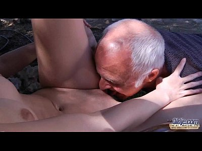 Blowjob Redhead Horny video: Oldman have to pleasures horny young landlady