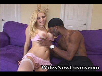 Blowjob Foreplay Interracial video: Passionate New Lover For Wifey