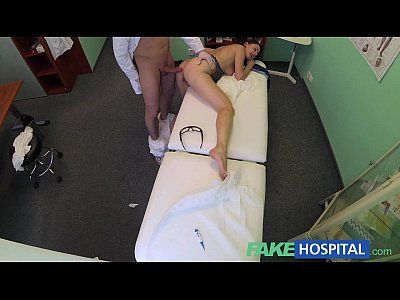 Voyeur Pov Hospital video: FakeHospital Pretty patient was prepped by nurse