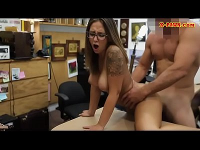 Slender college girl railed by pawn dude