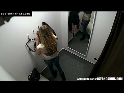 Voyeur Czech movie: Awesome Teen Girl Tries Out Underwear in Lingerie Store