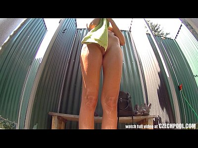 Czech Hd Hiddencam video: Long Haired TEEN Cought in Shower
