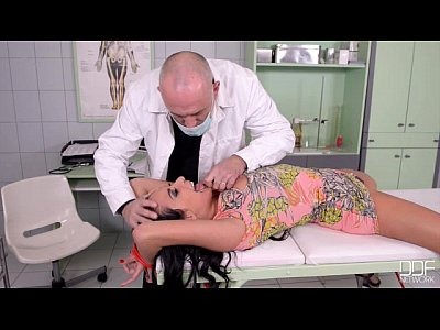 French Bdsm Spanking video: Beautiful French Girl Fucked good in Clinic Pt. 1