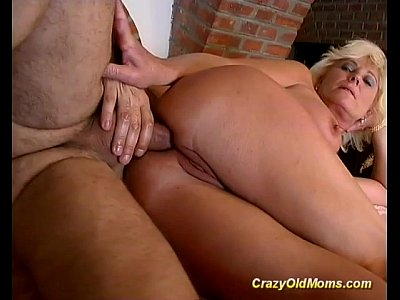 mom Mature crazy anal