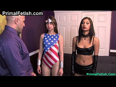 Lesbians Threesome movie: Wonder Girl - Innocence Lost