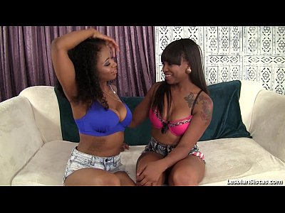 Ebony Fingering Girls video: Pretty Ebony Girls Lez Out!