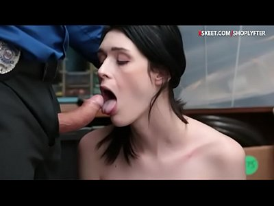 Small tits babe Ivy nailed in LP office