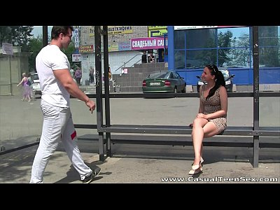Casual Teen Sex - From bus stop to bed