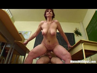 Milf Redhead Mature video: Fucking My Mature Biology Teacher In Detention