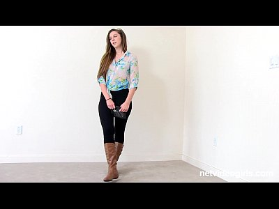 Pov Lesbian Casting video: Ashley Attacks Sabrina - netvideogirls