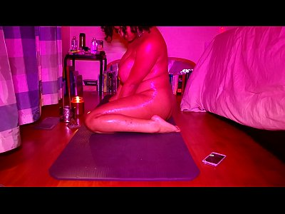 Bigtits Black Ebony video: Professor Gaia - Naked yoga
