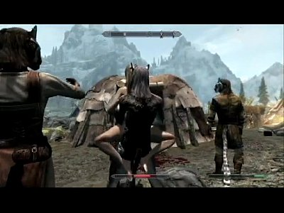 Skyrim Mod video: Thief caught and fucked as punishment