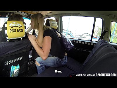Blonde Blowjob Car video: Czech Taxi - Blonde Teen gets ride of her LIFE