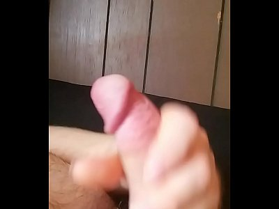 Me stroking my cock