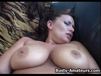 Bigtits Boobs Bustyamateurs video: Busty Leslie playing her tits and hot pussy