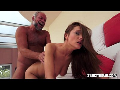 Blowjob Cumshot Grandpa video: Not so naive