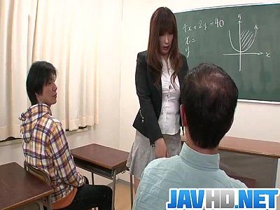 Double Heels Mature video: Insolent teacher is in for a steamy fuck at school