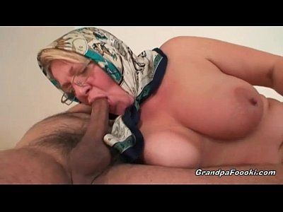Blonde Chubby Granny video: Fat mature blonde likes hardcore sex
