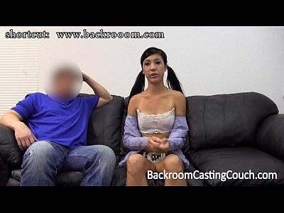 Cum Creampie Couch video: Trashy Teen Casting Creampie