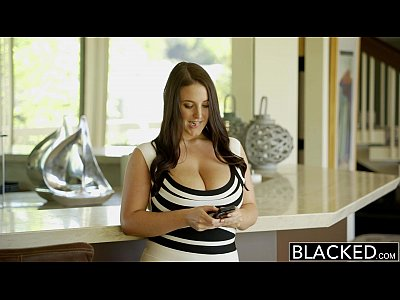 Blowjob Brunette Gagging video: BLACKED Big Natural Tits Australian Babe Angela White Fucks BBC