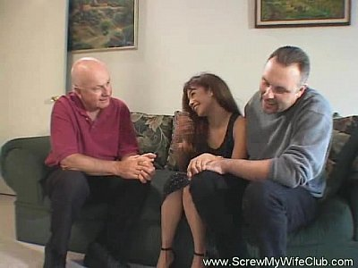 Swingers Threesome Milf video: Real Housewife Turns To Swinging