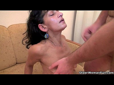 Milfs Grannies Milf video: Nothing better that shooting your cum on mom's body