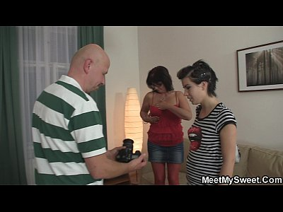 Couplethreesome Familythreesome Maturecoupleandteen video: Perverted old couple seduce teen