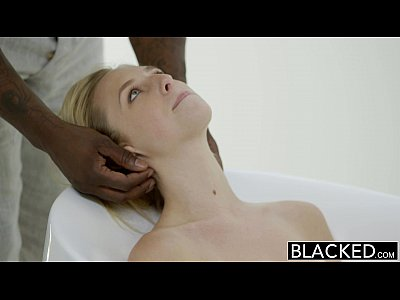 Blacked Blonde Blowjob video: BLACKED First Interracial for Beautiful Blonde Taylor Whyte