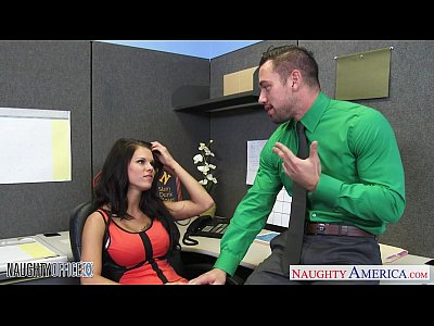 Stockings Lingerie Oral video: Chesty office babe Peta Jensen fucking