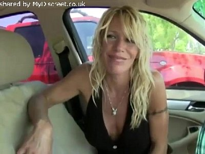Hot Blonde on road! x264