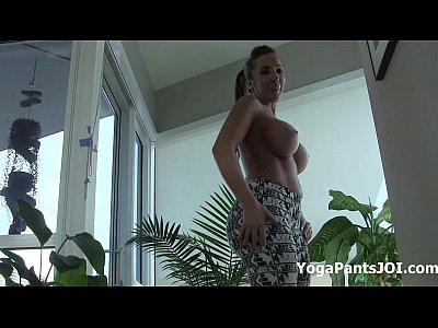 Instruction Jerk Joi video: My ass in yoga pants!