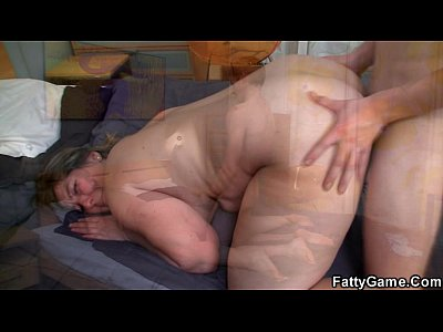 He helps BBW feel better by stuffing his dick into her hole