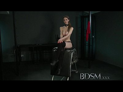 Bdsm Fetish Domination vid: BDSM XXX Young big breasted sub gets hard anal from her Master