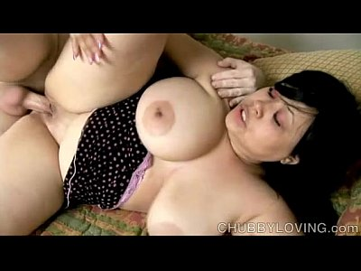 Boobies Booty Breasts video: Super sexy busty brunette BBW loves a hard fucking