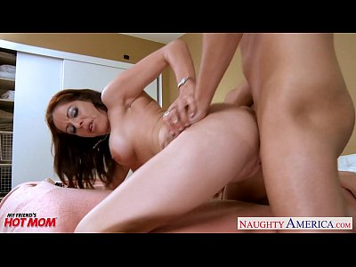 Blowjob Brunette Busty video: Gorgeous mom Kora Peters take cock
