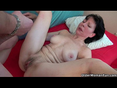 Mature Granny Mom video: Nothing beats getting your balls drained by grandma