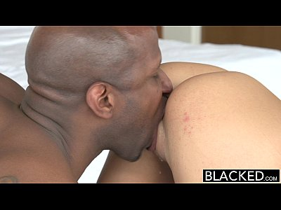11 min August Ames with her black boss Porn Clip