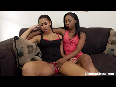 Sex Black Ebony video: Hot Black Lesbians Really Know How to Please Each Other!