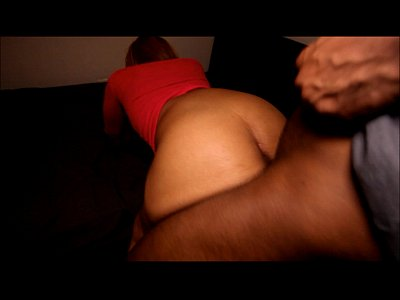 Submissive black slut gets dominated by 2 big black dicks
