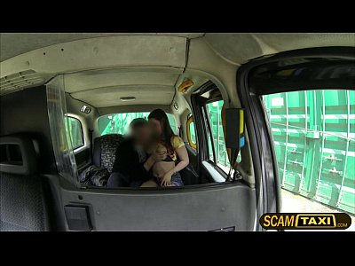 Blowjob Pornstar Reality video: Horny Olga rides a cab and gets pounded hard in the backseat by the pervy driver