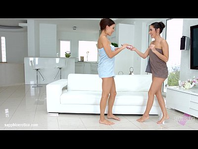 Lesbian scene with Kerry Cherry and Roxy Dee by SapphiX