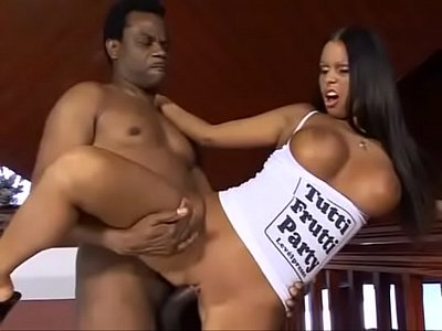 Hungarian Titt video: Csilla, the hungarian beauty meet big black cock