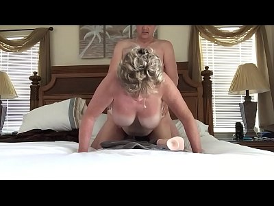 Toys Oral Licking video: mom fucked in alll holes by hubby's friend