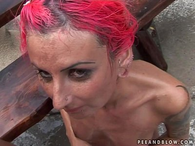 Pissing humiliate.. EPIC Piss and Blowjob Scene