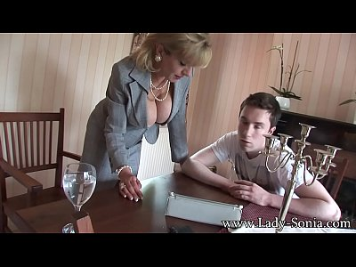 British Lingerie movie: Lady Sonia Stable Boy Teased