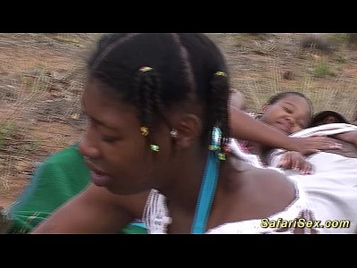 Bigbreast Black Chocolate video: african safari groupsex fuck orgy