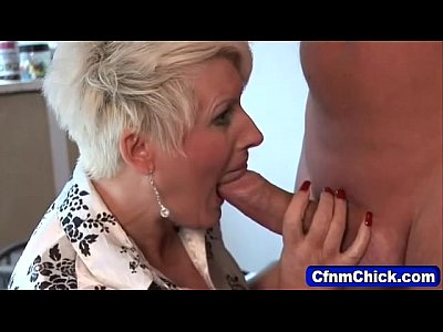 Femdom Group Fetish video: Mature domina milks loser