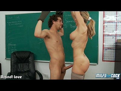 Porno video: MILF Brandi Love fuck cock